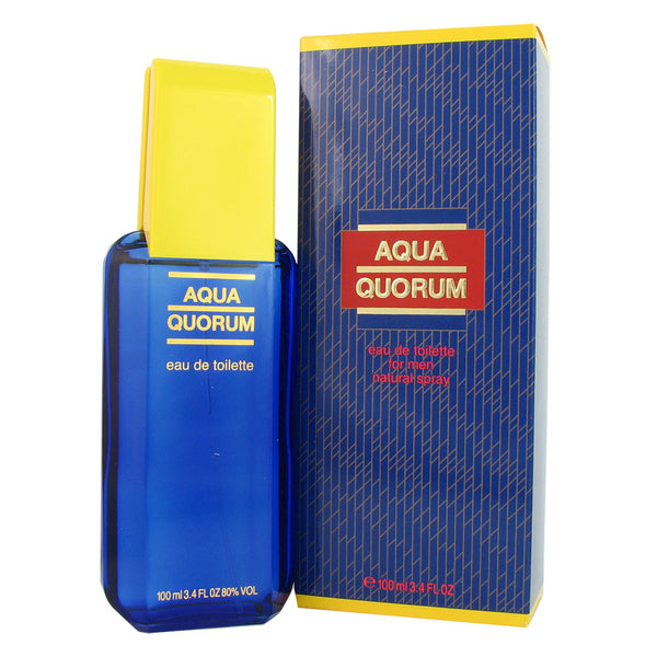 Aqua Quorum for Men by Puig 3.4 oz Eau de Toilette Spray