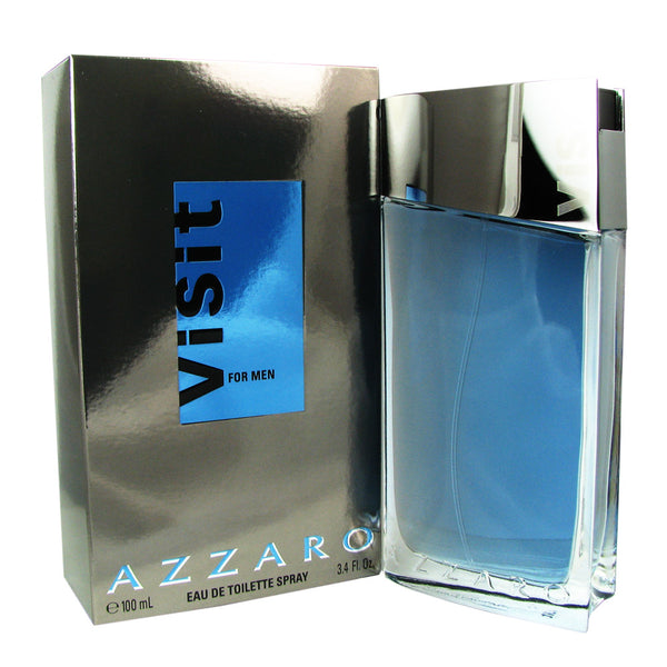 Azzaro Visit for Men by Azzaro 3.4 oz Eau de Toilette Spray