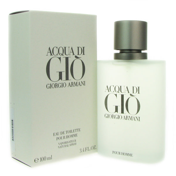 Acqua Di Gio fpr Men by Giorgio Armani 3.3 oz Eau de Toilette Spray