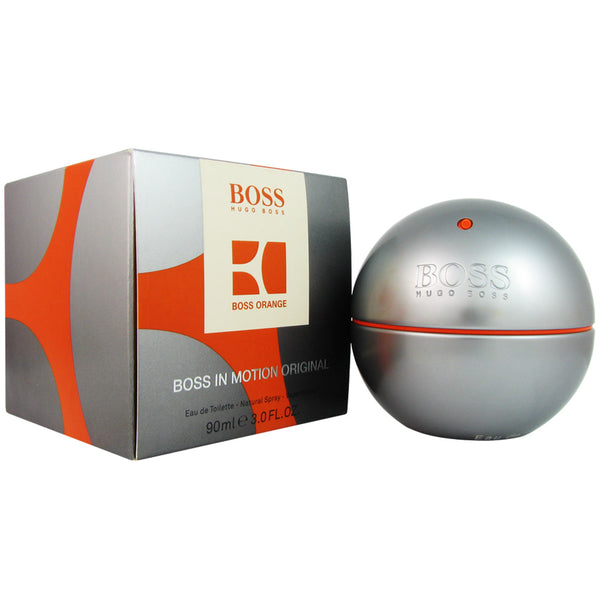 Boss In Motion for Men by Hugo Boss 3.0 oz Eau de Toilette Spray