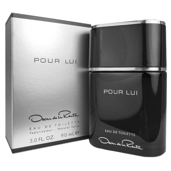 Pour Lui for Men by Oscar de La Renta 3 oz Eau de Toilette Spray