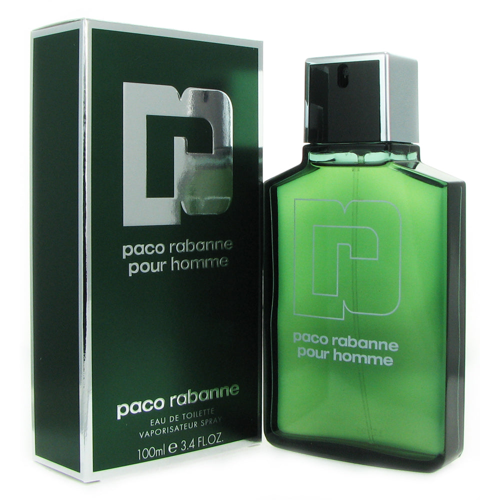 Paco Rabanne for Men 3.4 oz 100 ml Eau de Toilette Spray