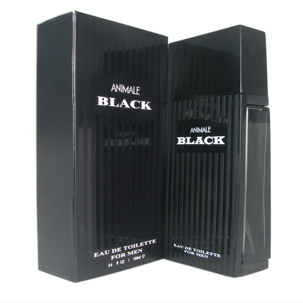 Animale Black for Men By Animale 3.3 oz Eau de Toilette Spray