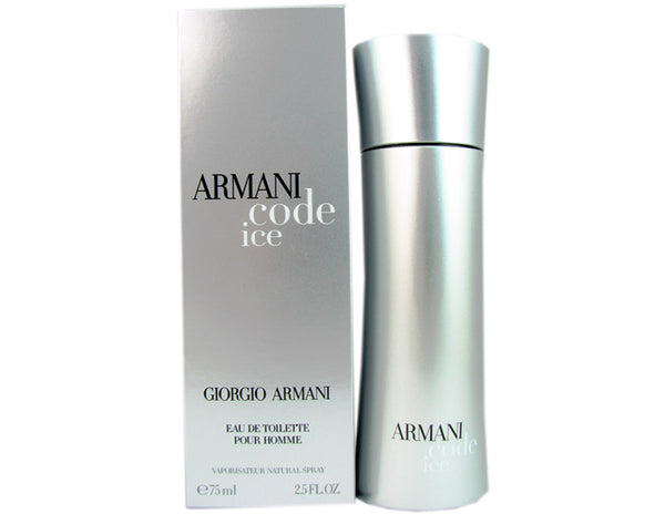 Armani Code Ice Men by Armani 2.5 oz Eau de Toilette Spray