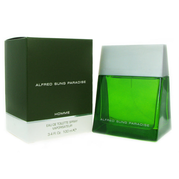 Paradise for Men by Alfred Sung 3.4 oz 100 ml Eau de Toilette Spray