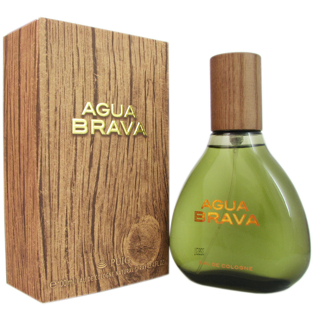 Agua Brava for Men by Puig 3.4 oz Eau de Cologne Spray