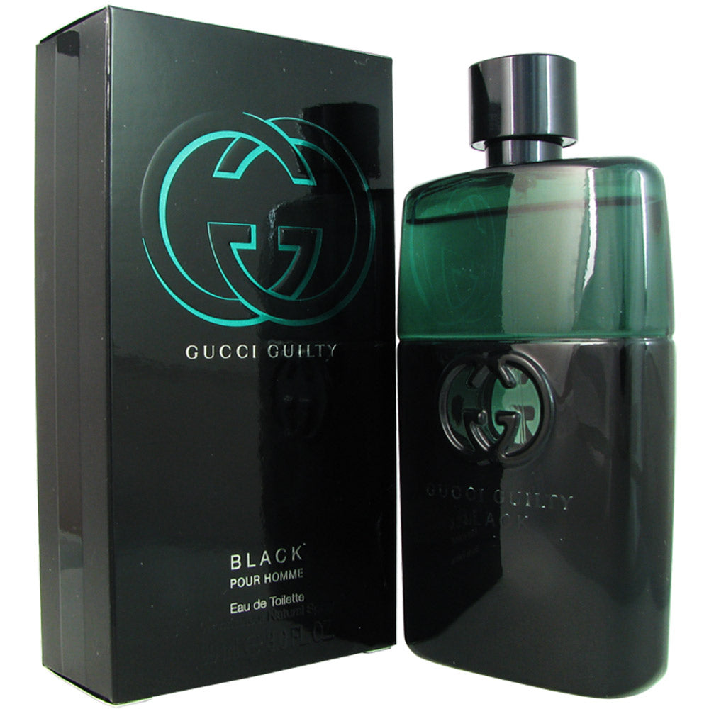 Gucci Guilty Black for Men 3.0 oz Eau de Toilette Spray