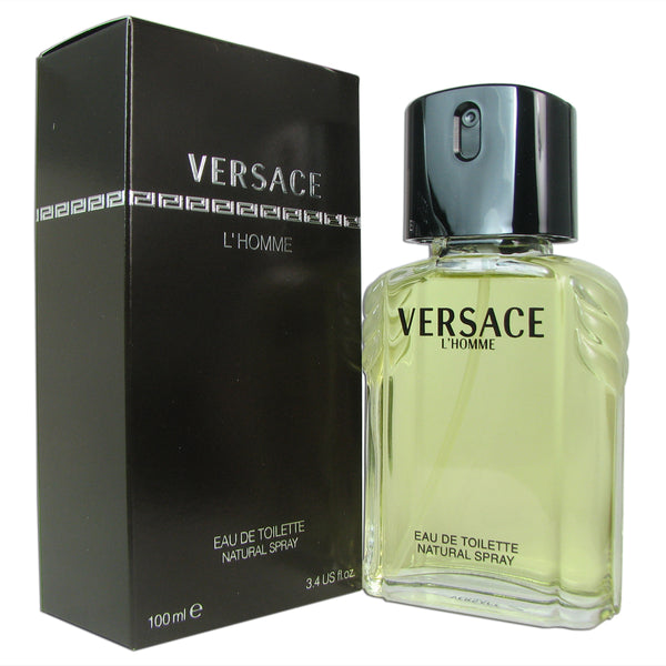 Versace L'Homme for Men 3.4 oz Eau de Toilette Spray