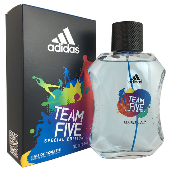 Adidas Team Five Special Edition for Men 3.4 oz Eau de Toilette Spray