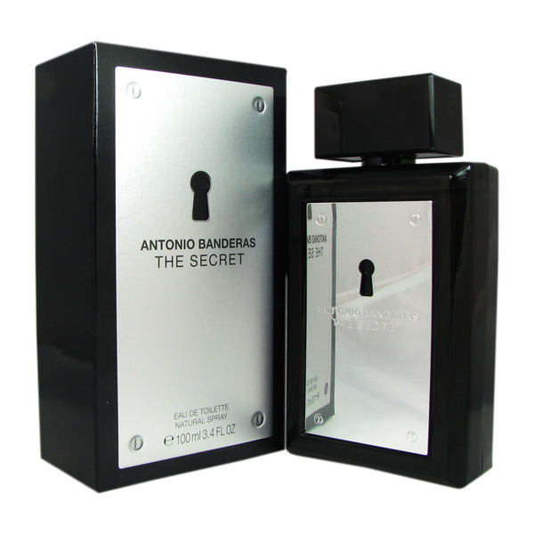 The Secret for Men by Antonio Banderas 3.4 oz Eau De Toilette Spray