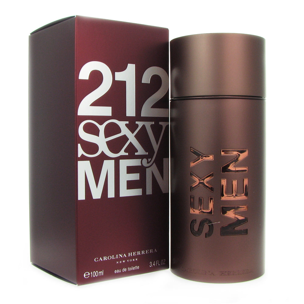 212 Sexy Men for Men by Carolina Herrera 3.4 oz Eau de Toilette Spray