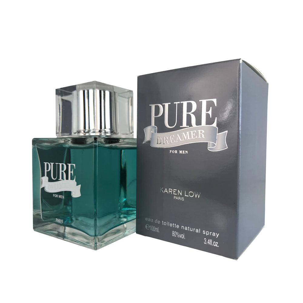 Pure Dreamer For Men By Karen Low 3.4 oz Eau De Toilette Spray