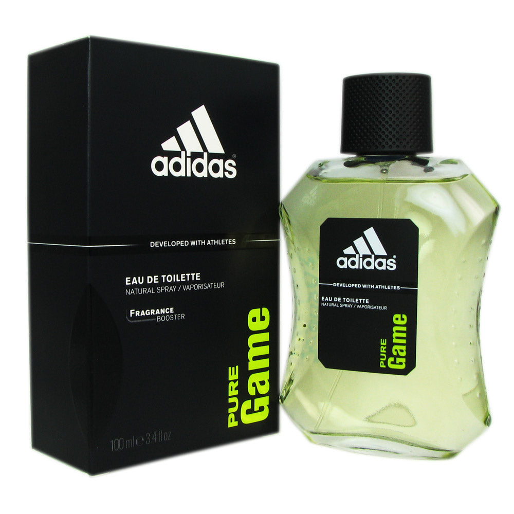 Adidas Pure Game for Men 3.4 oz Eau de Toilette Spray