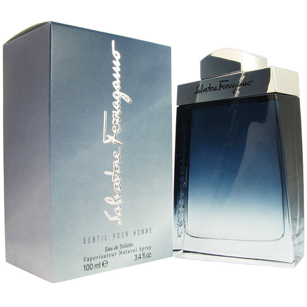 Subtil Pour Homme for Men by Ferragamo 3.4 oz Eau de Toilette Spray