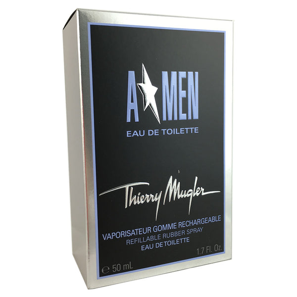 A Men for Men by Thierry Mugler 1.7 oz Rubber Flask Eau de Toilette Refillable