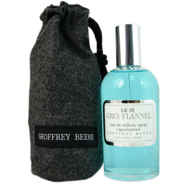 Eau de Grey Flannel for Men by Geoffrey Beene 4 oz Eau de Toilette Spray