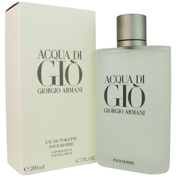 Acqua Di Gio for Men by Giorgio Armani 6.7 oz Eau de Toilette Spray