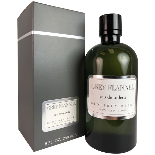 Grey Flannel for Men by Geoffrey Beene 8 oz Eau de Toilette Splash
