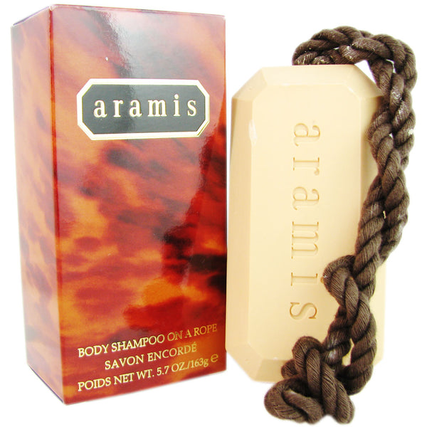 Aramis Body Shampoo On a Rope by Aramis for Men - 5.7 oz Soap
