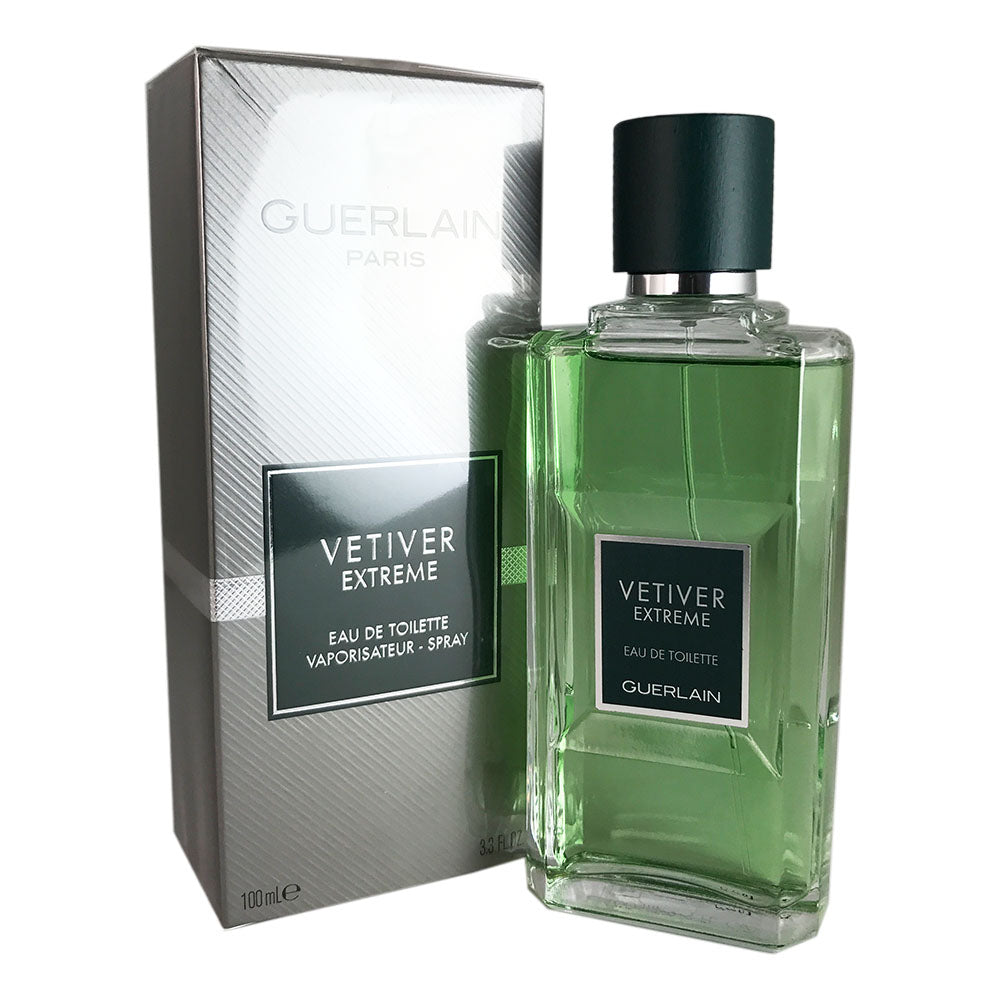 Vetiver Extreme for Men by Guerlain 3.4 oz Eau de Toilette Spray