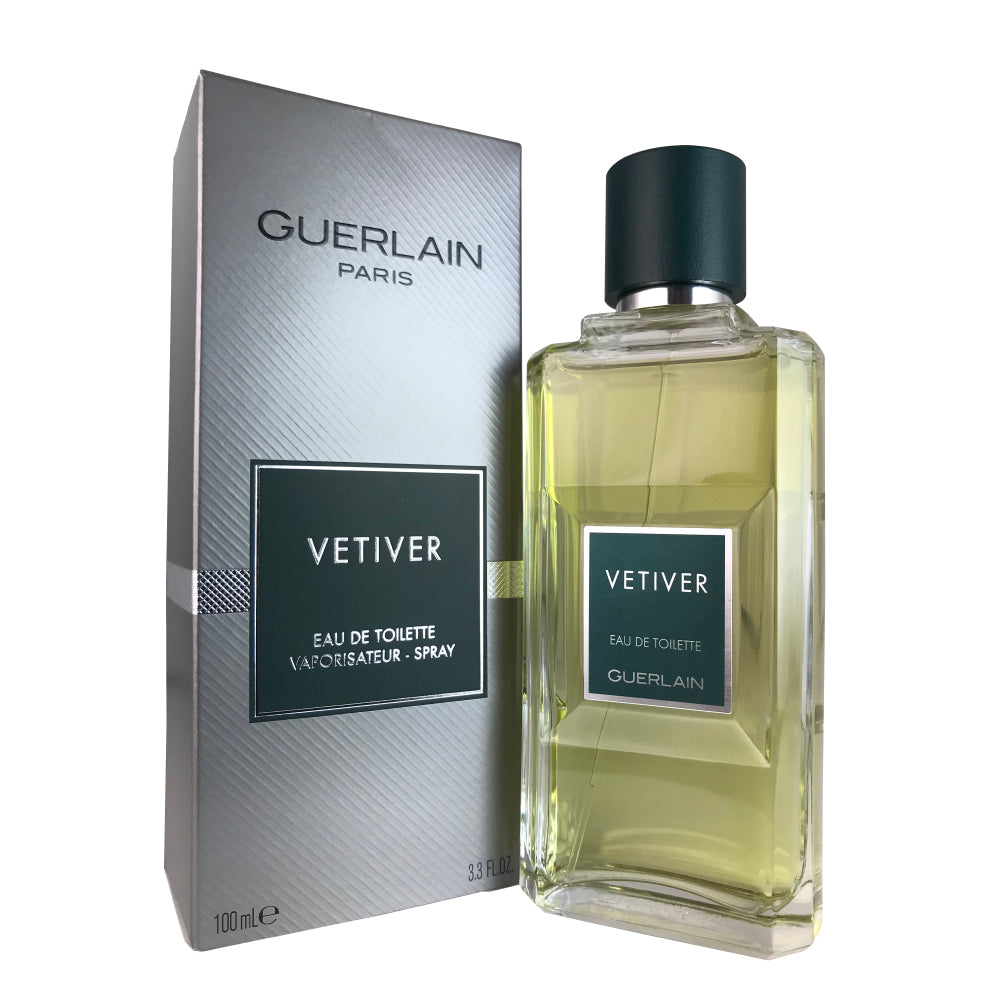 Vetiver for Men by Guerlain 3.4 oz Eau de Toilette Spray