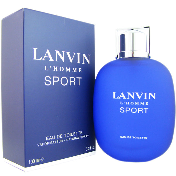 Lanvin L' Homme Sport for Men 3.4 oz Eau de Toilette Spray
