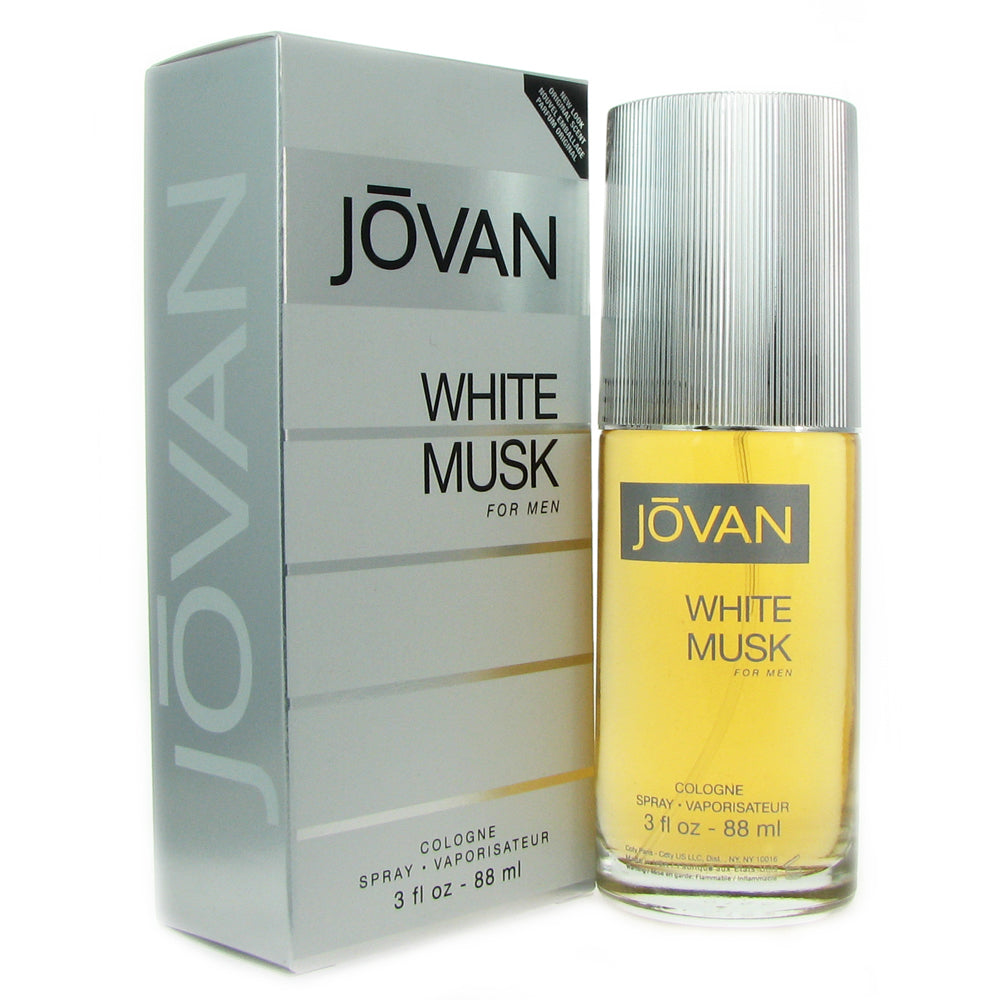Jovan White Musk for Men by Coty 3 oz Eau de Cologne Spray