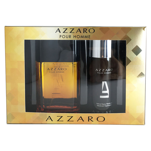 Azzaro for Men 3.3 oz Eau de Toilette Spray 2 Piece Set