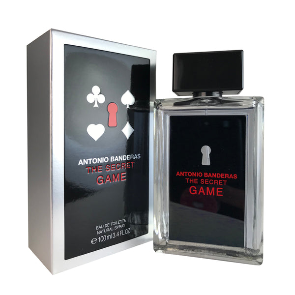 The Secret Game For Men by Antonio Banderas 3.4 oz Eau De Toilette Spray