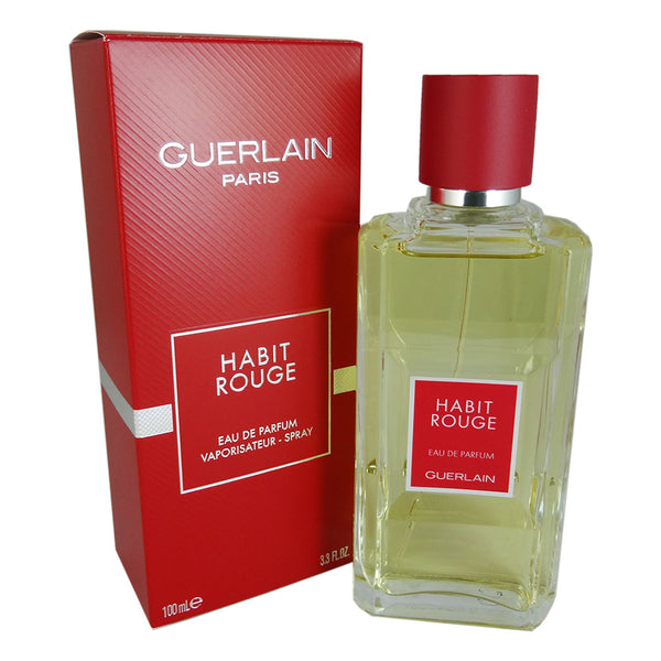 Habit Rouge for Men by Guerlain 3.3 oz Eau de Parfum Spray