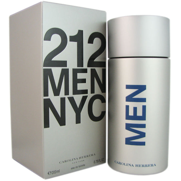 212 Carolina Herrera for Men 6.75 oz 200 ml Eau de Toilette Spray