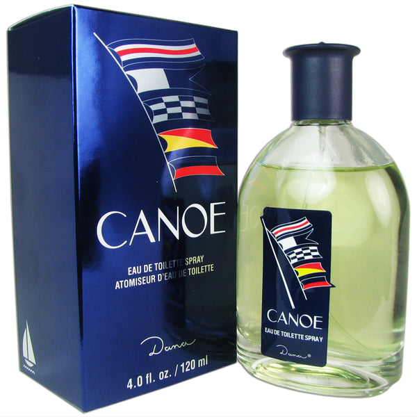 Canoe for Men by Dana 4.0 oz Eau de Toilette Spray