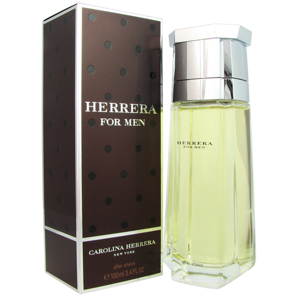 Herrera for Men by Carolina Herrera 3.4 oz After Shave Splash Bottle