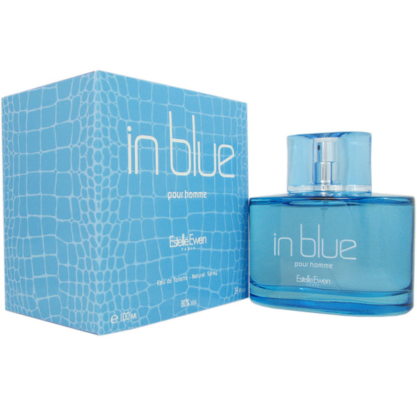 In Blue for Men By Estelle Ewen 3.4 oz Eau de Toilette Spray
