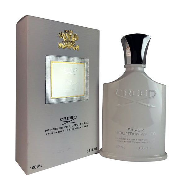Creed Silver Mountain Water For Men by Creed 3.3 oz Eau De Toilette Spray