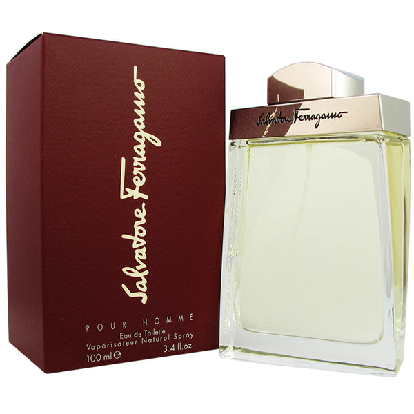 Ferragamo Pour Homme for Men by Ferragamo 3.4 oz 100 ml Eau de Toilette Spray