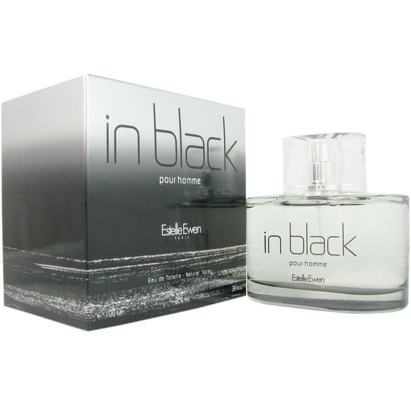 In Black for Men By Estelle Ewen 3.4 oz Eau de Toilette Spray