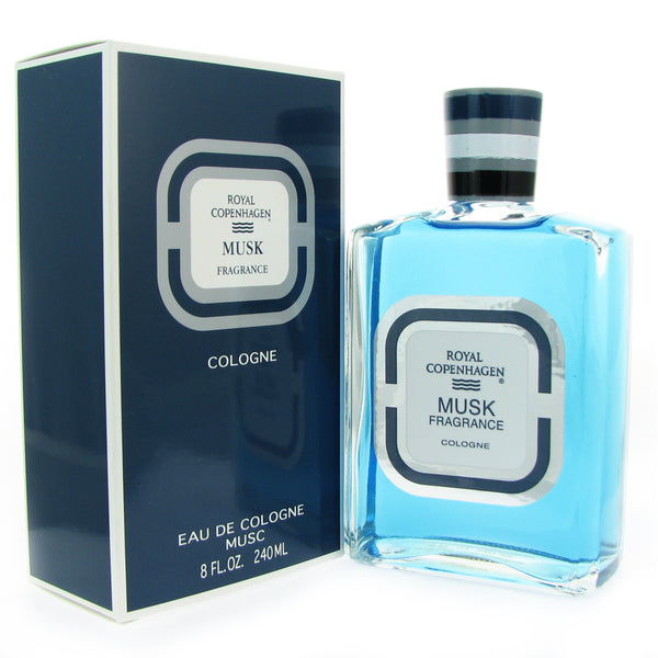 Royal Copenhagen Musk Men 8.0 oz 240 ml Eau de Cologne Splash
