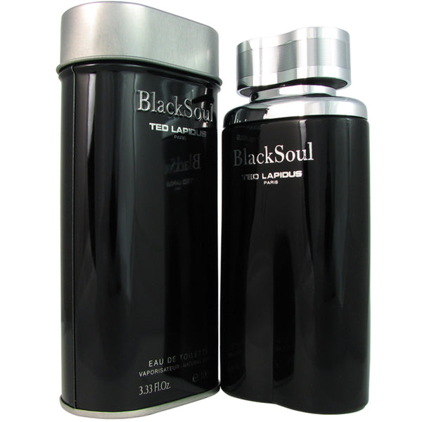 Black Soul for Men by Ted Lapidus 3.4 oz Eau de Toilette Spray