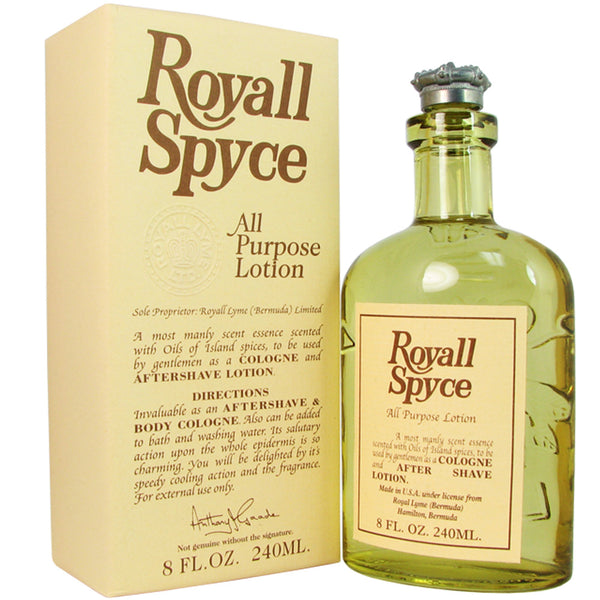 Royall Spyce by Royall Fragrances 8 oz All Purpose Lotion