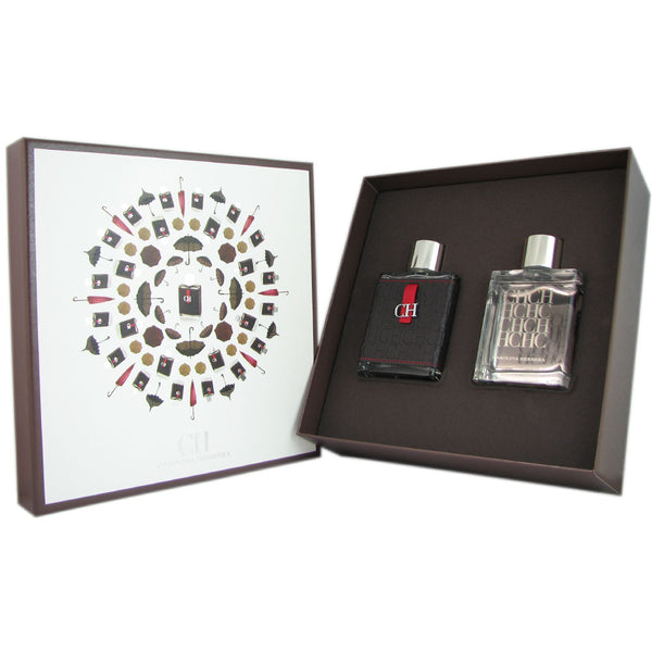 CH for Men by Carolina Herrera 2 Piece Gift Set