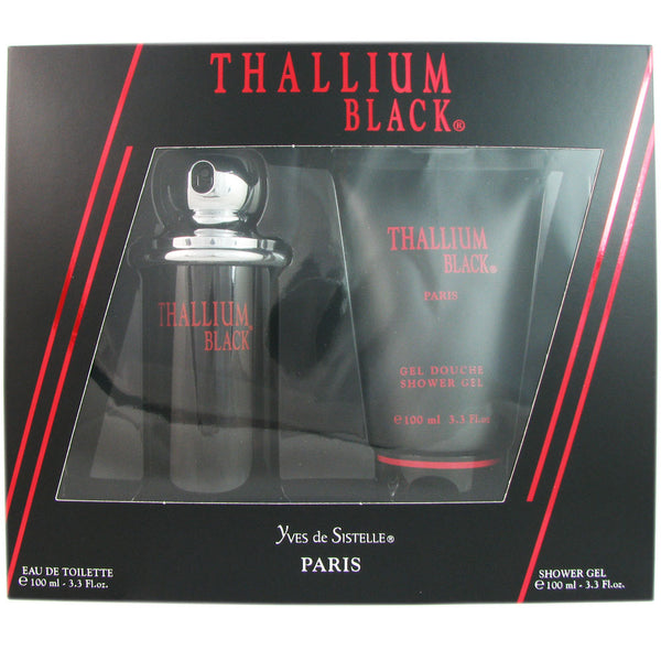 Thallium Black Men by Yves De Sistelle 2 Pcs Set