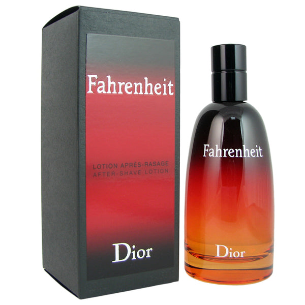 Fahrenheit for Men By Christian Dior 3.4 oz After Shave Lotion Splash Bottle