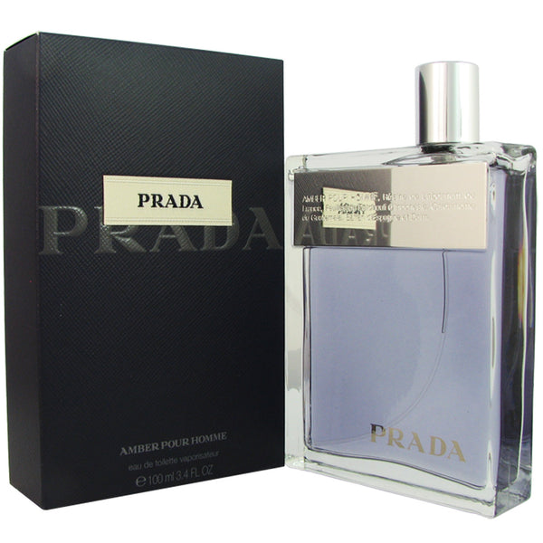 Prada Amber for Men by Prada 3.4 oz Eau de Toilette Spray