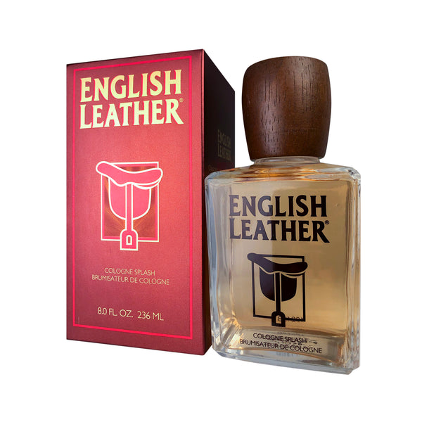 English Leather for Men by Dana 8 oz Eau de Cologne Splash Bottle