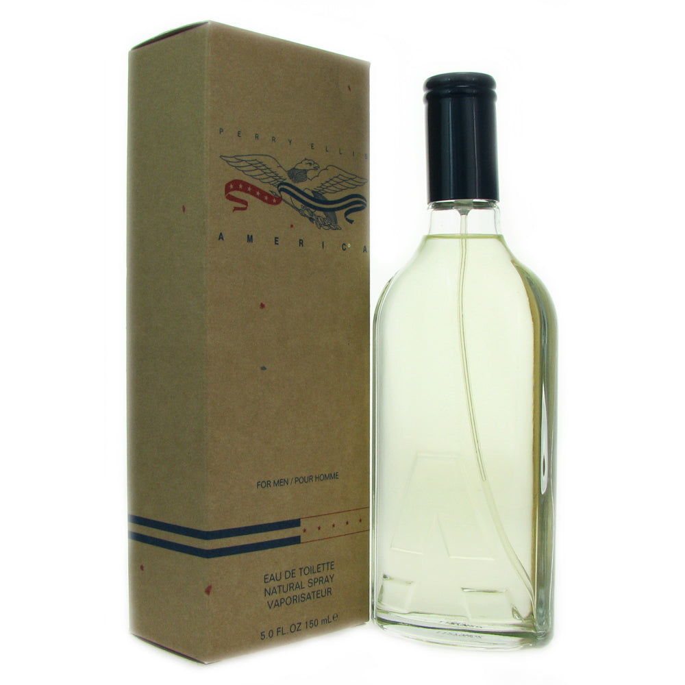 America for Men by Perry Ellis 5.0 oz Eau de Toilette Spray