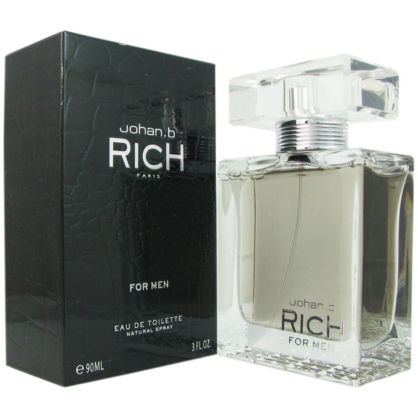Rich for Men by Johan B. 3.0 oz Eau de Toilette Spray