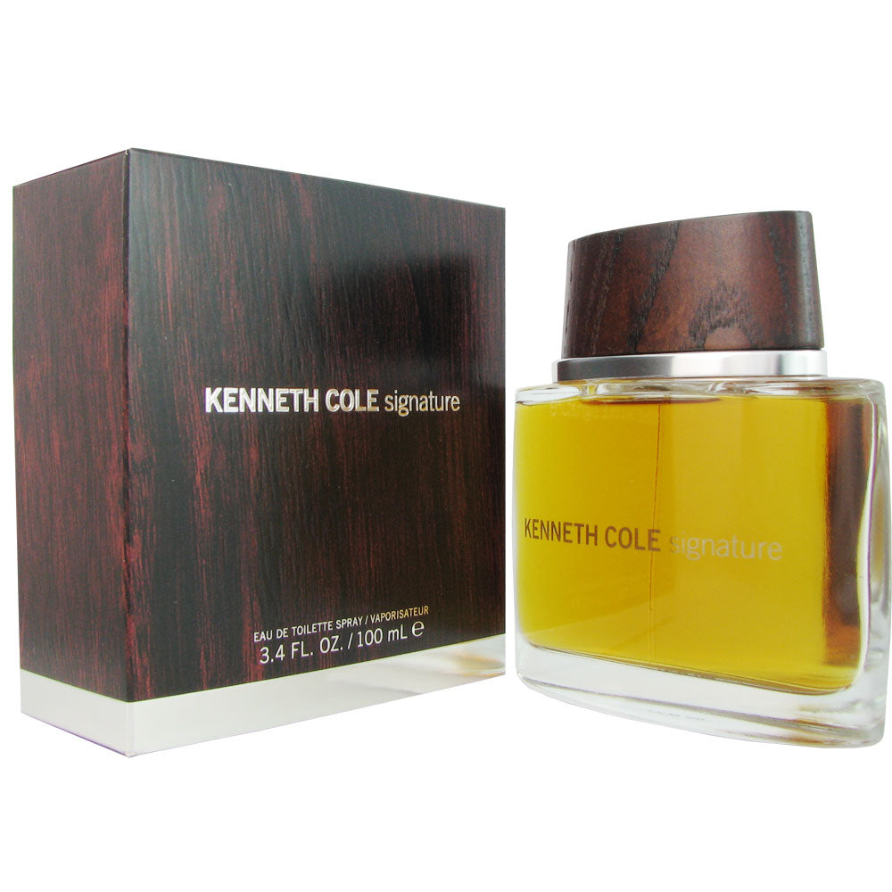 Kennth Cole Signature for Men by Kenneth Cole 3.4 oz Eau de Toilette Spray