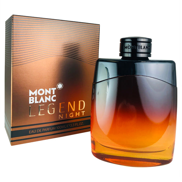 Legend Night For Men By Mont Blanc 3.3 Oz Eau De Parfum Spray