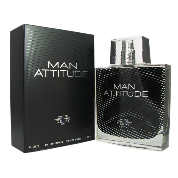 Attitude for Men By Deray 3.4 oz Eau de Toilette Spray